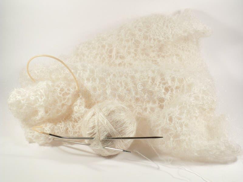 黏的shawles 免版税库存图片