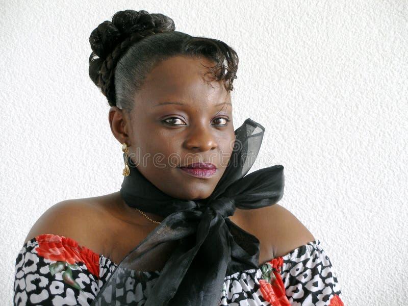 黑人妇女年轻人 库存图片