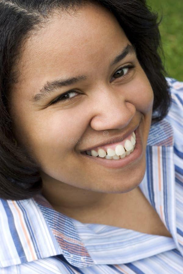 黑人妇女 免版税库存照片