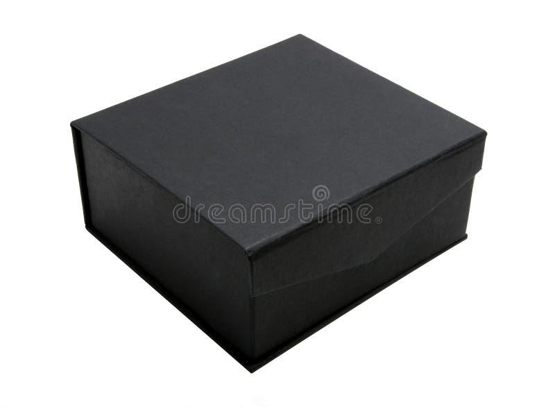 黑匣子纸板 免版税库存图片