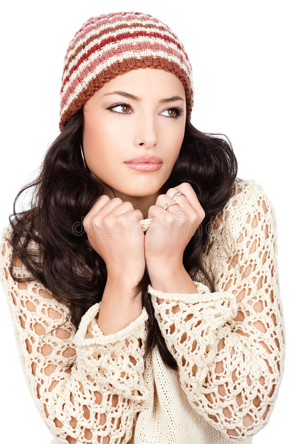 Download 黑发她的藏品俏丽的毛线衣妇女 库存照片. 图片 包括有 关心, 高雅, 本质, 女孩, beauvoir - 22353518