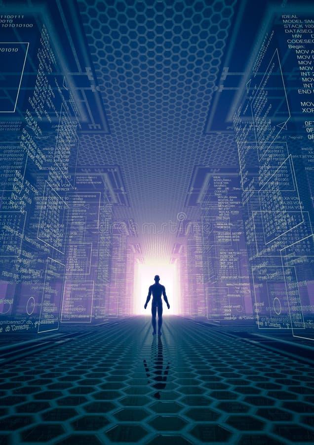 Download 黑客世界 库存例证. 插画 包括有 远期, 佣金, 男人, 数据, 背包, 更改, 总公司, 装配工, 通信 - 27409259