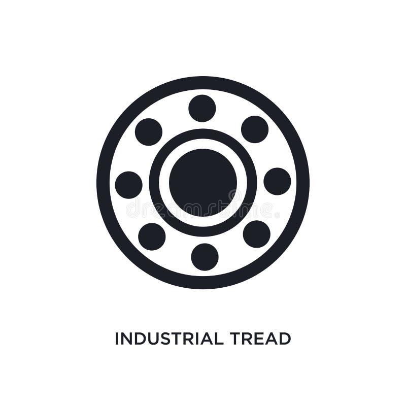 黑工业踩被隔绝的传染媒介象 r 工业踩 皇族释放例证