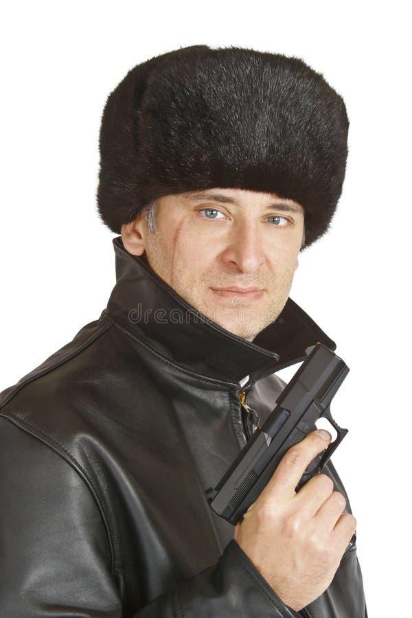 黑手党俄语 免版税图库摄影