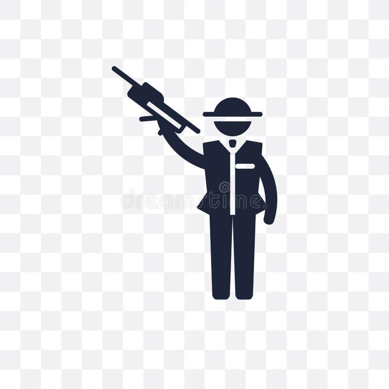 黑手党透明象 黑手党从行业col的标志设计 库存例证