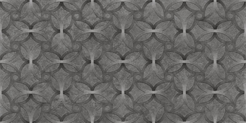 黑抽象无缝的背景,金属墙纸纹理 免版税库存照片