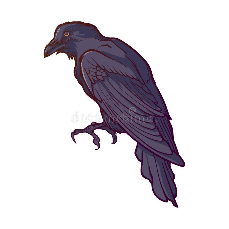 黑掠夺开会 准确被绘和被遮蔽的线描 背景查出的白色 万圣夜设计元素 皇族释放例证