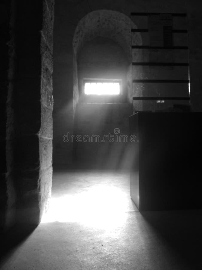黑暗的光 免版税库存照片