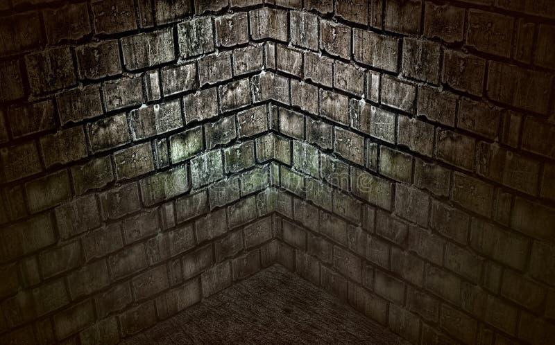 黑暗的地窖 库存照片