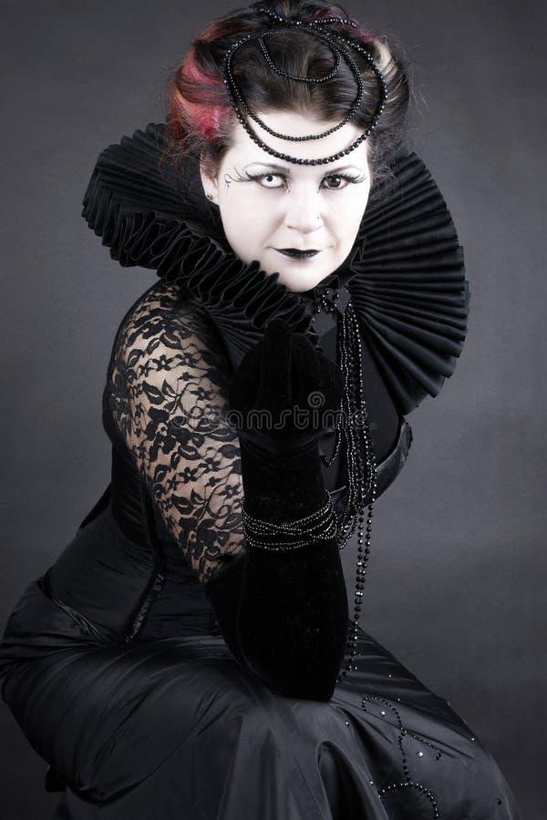 黑暗的女王/王后 免版税图库摄影