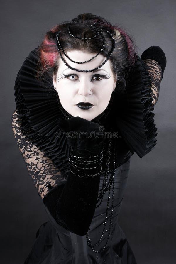 黑暗的女王/王后 图库摄影