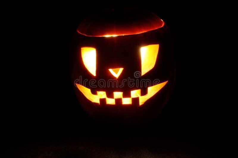 黑暗的微笑 免版税图库摄影