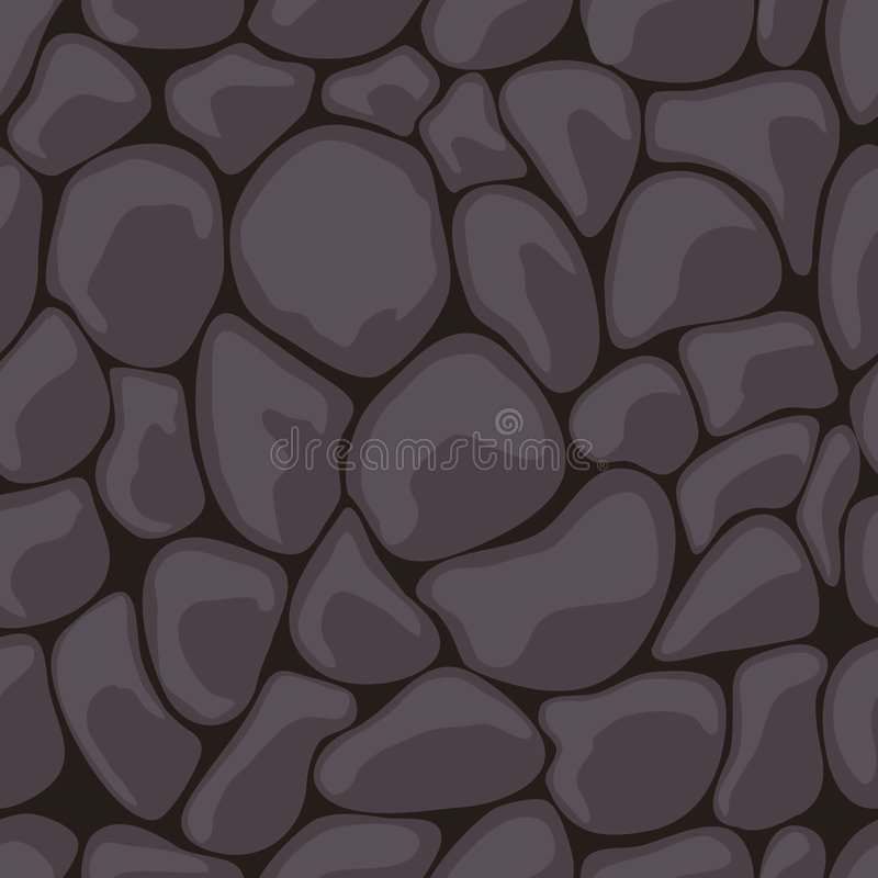黑暗的无缝的石头 皇族释放例证