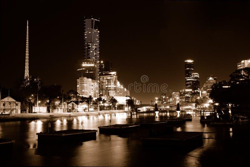 黑暗的晚上 免版税图库摄影