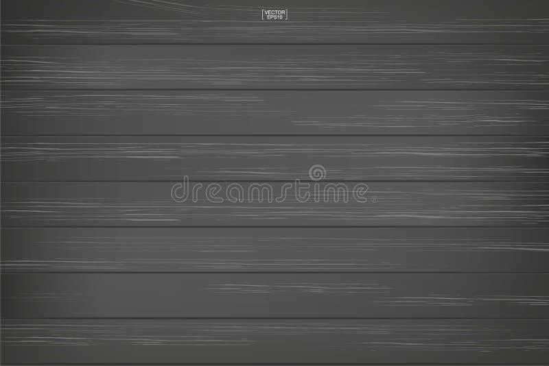 黑暗的木样式和纹理背景 也corel凹道例证向量 向量例证