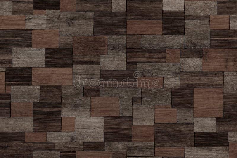 黑暗的木背景,木墙壁设计  库存图片