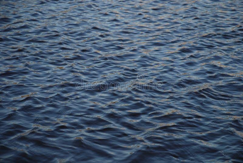 黑暗的水 图库摄影