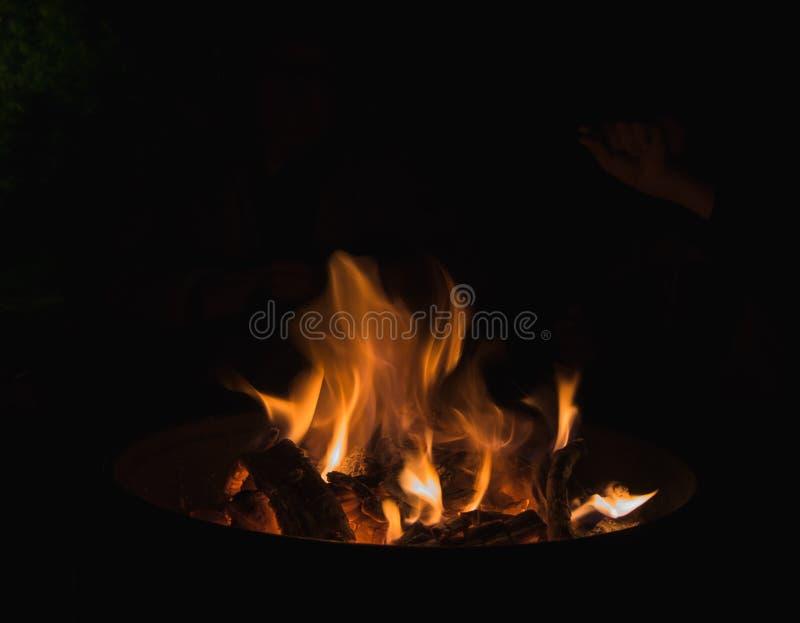 黑暗的火焰 库存图片