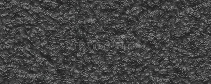 黑暗的煤炭石物质3d纹理 向量例证