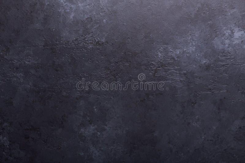 黑暗的石纹理背景拷贝空间 库存图片