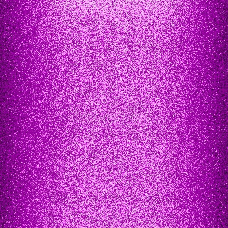 黑暗的紫色与光和3个d作用计算机生成的背景影像和墙纸的颜色光滑和光亮的闪烁纸 皇族释放例证
