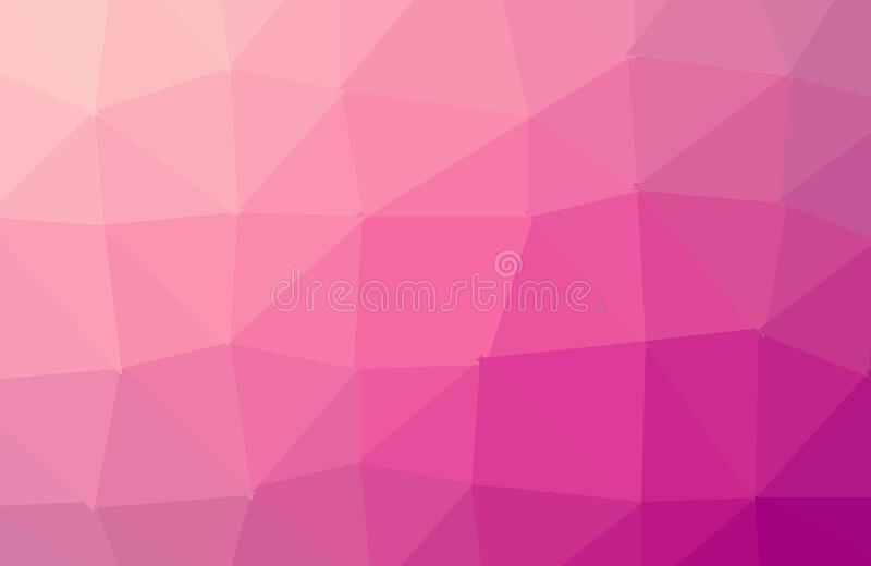 黑暗的紫色多角形例证,包括三角 o ?? 库存例证
