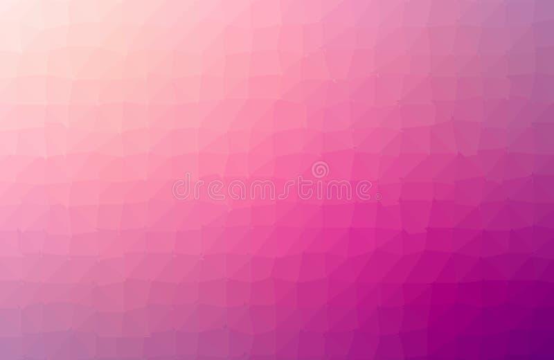 黑暗的紫色,桃红色传染媒介低多纹理 在Origami样式的几何例证与梯度 手机的模板 皇族释放例证