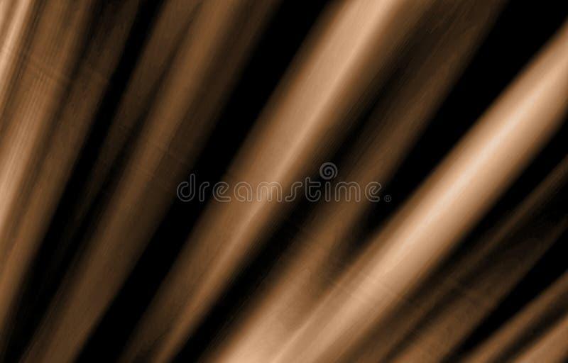 黑暗的织地不很细背景 优美的木头的纹理作用 向量例证