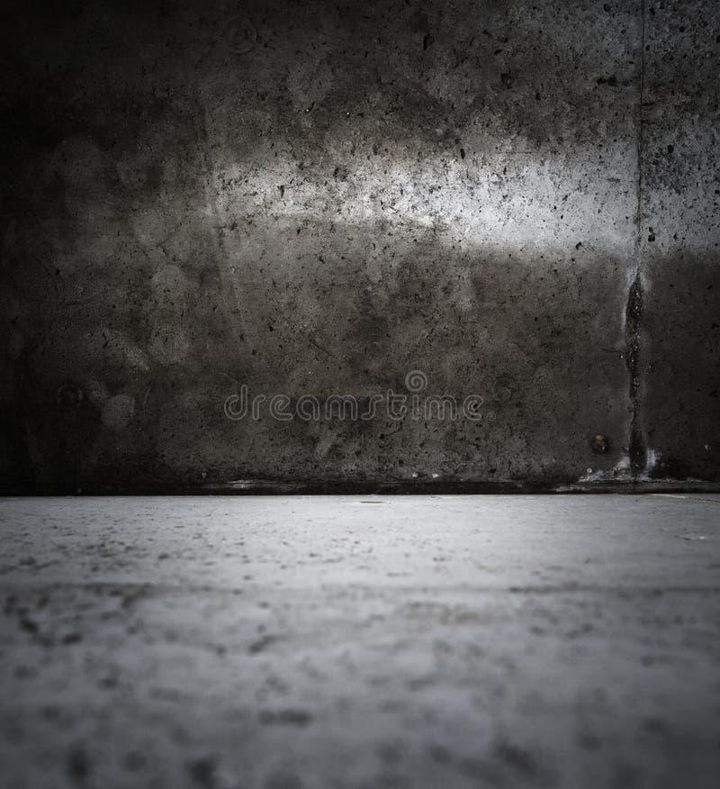 黑暗的脏的空间 免版税图库摄影