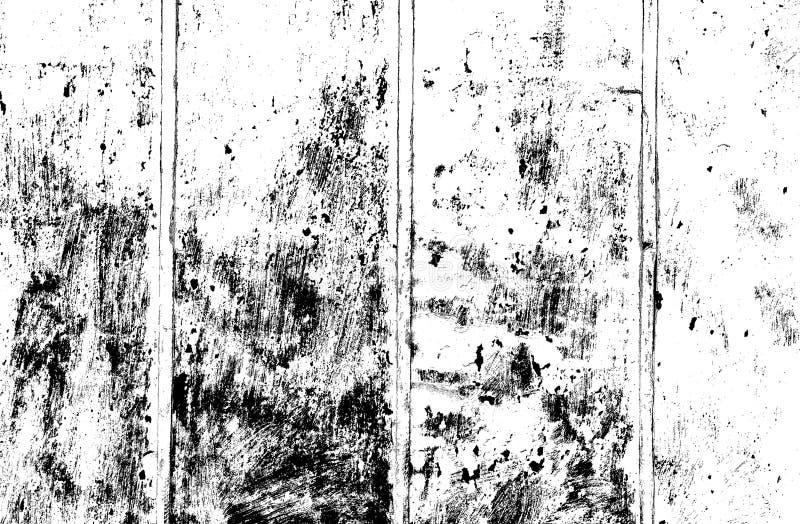 黑暗的覆盖物的难看的东西黑白色纹理在背景 石灰粉刷的被风化的焦油纸材料 自然背景与 皇族释放例证