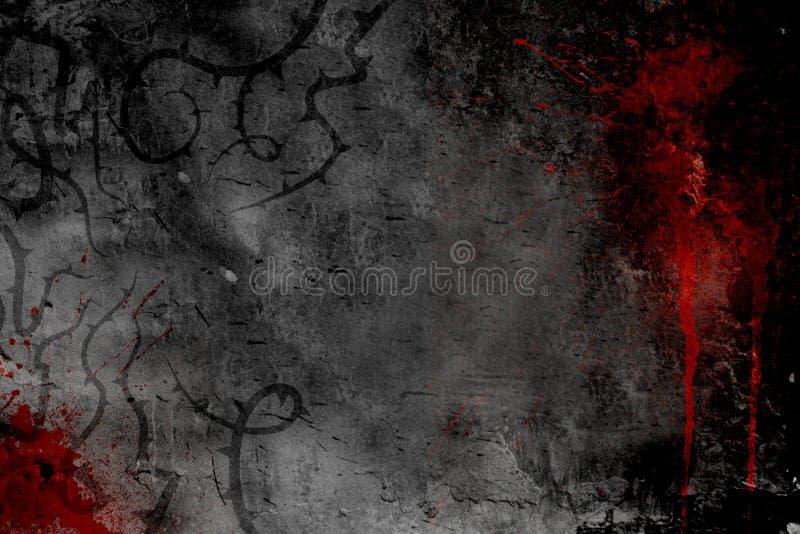 黑暗的设计海报样式 库存例证