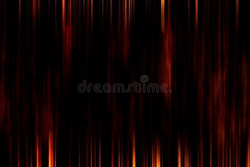 黑暗的难看的东西纹理,黑和红色基于木背景 皇族释放例证