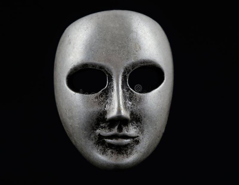 黑暗的面罩 免版税库存图片