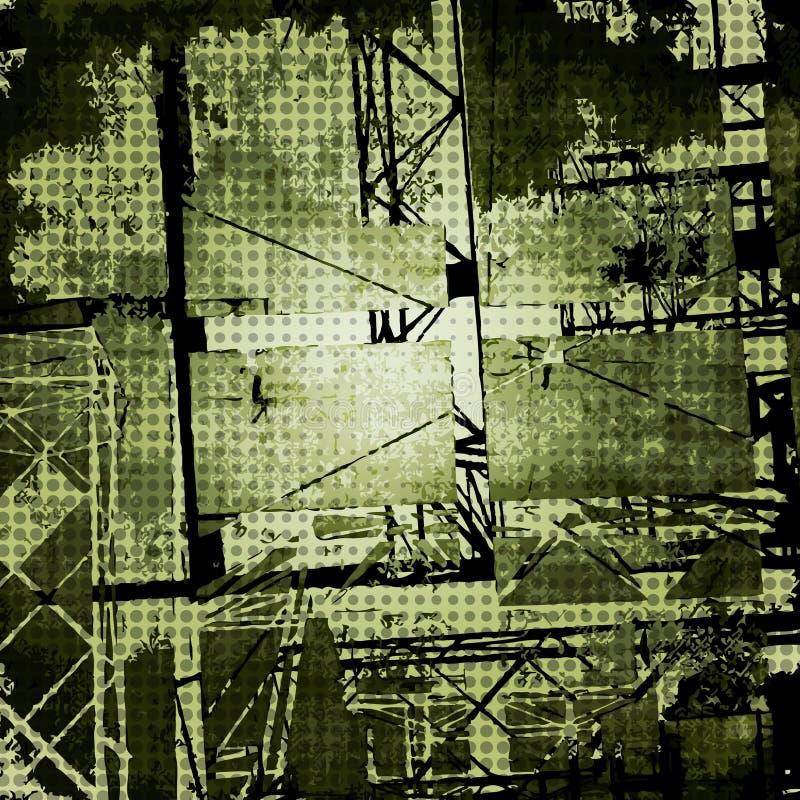 黑暗的grunge纹理向量 向量例证