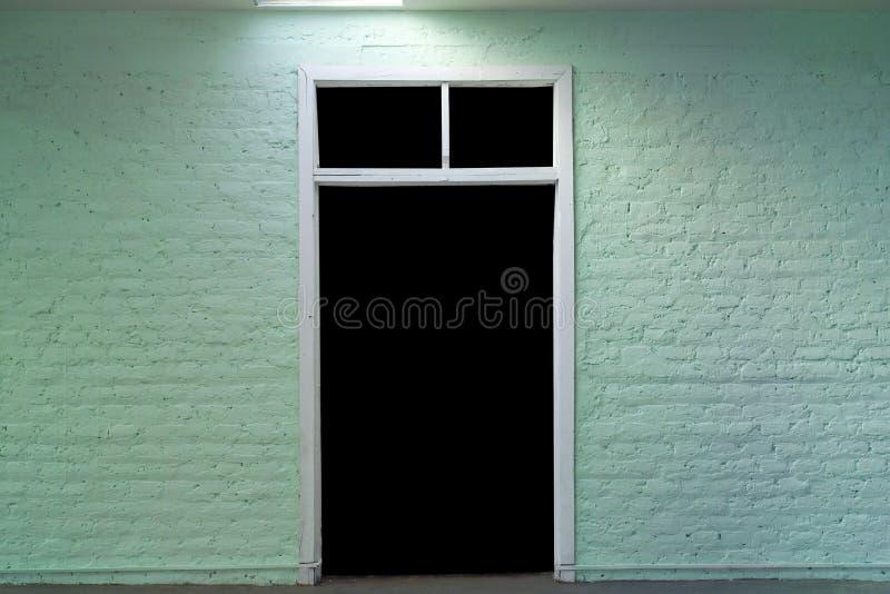 黑暗门 库存照片