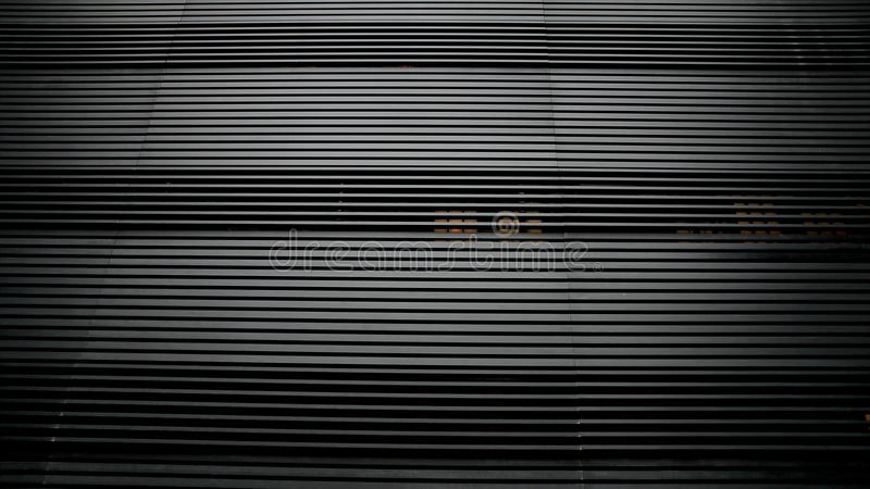 黑条纹样式树荫 库存照片