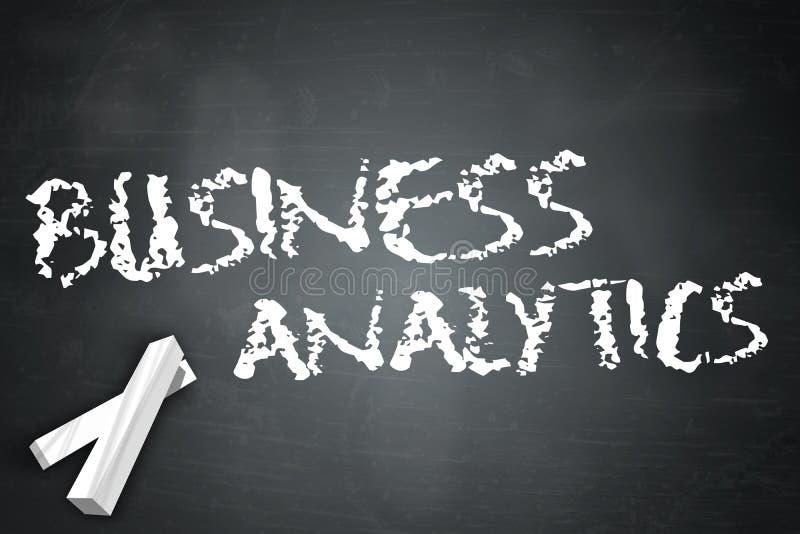 黑板企业逻辑分析方法 向量例证