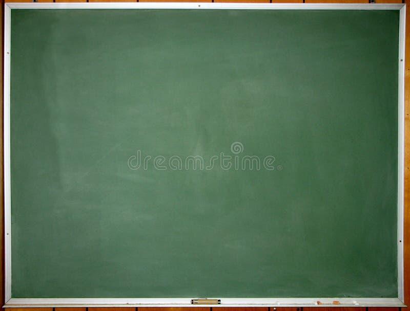 黑板干净的绿色 库存照片