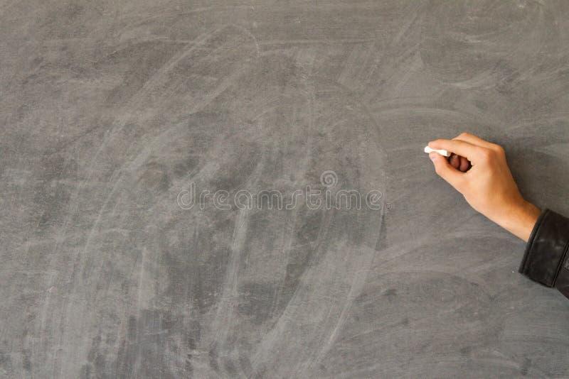 黑板现有量文字 库存照片