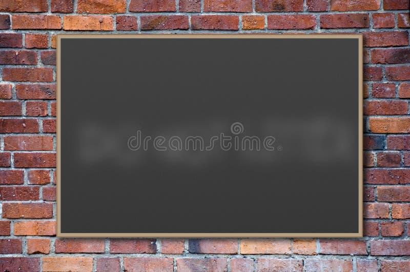 黑板空白 图库摄影