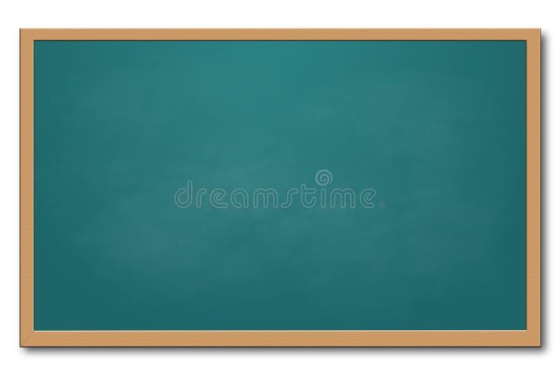 黑板绿色 库存例证