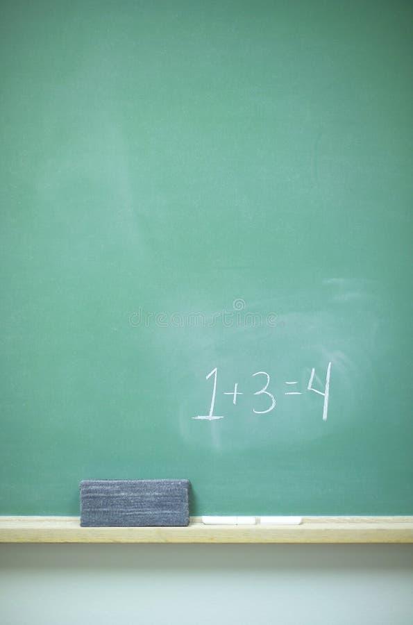 黑板编号 图库摄影