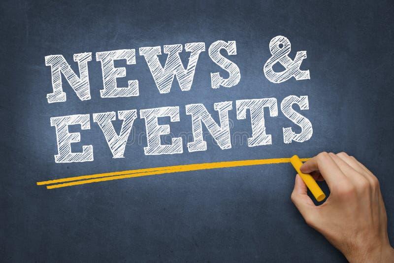 黑板黑板-新闻和事件 库存图片