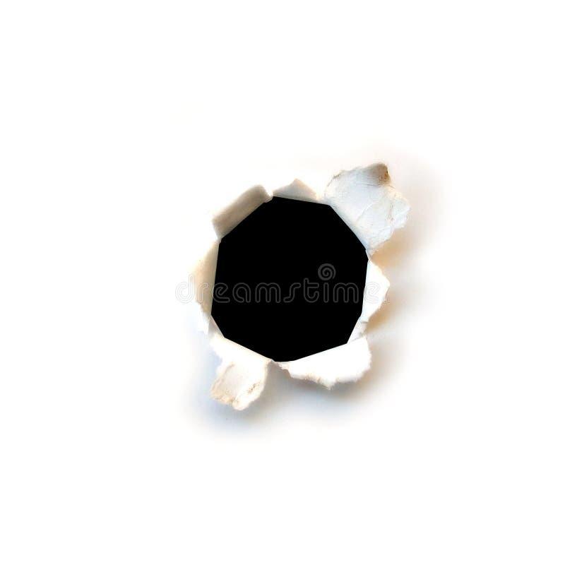 黑洞 免版税图库摄影