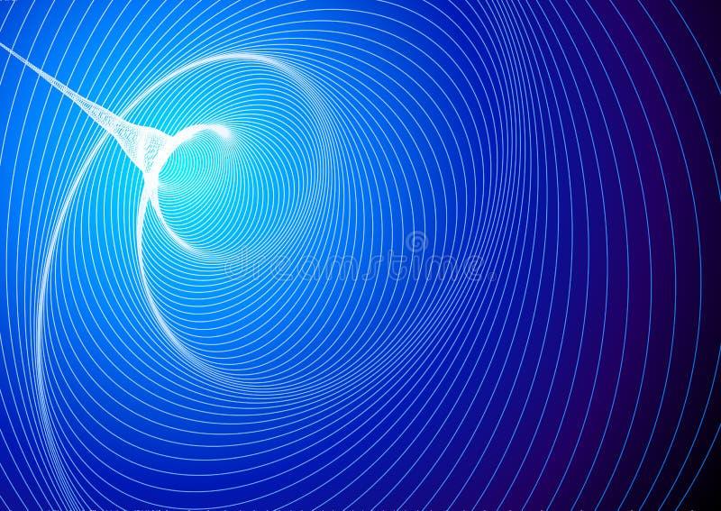 黑洞 向量例证