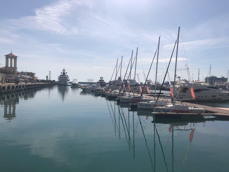 黑海在索契 库存照片