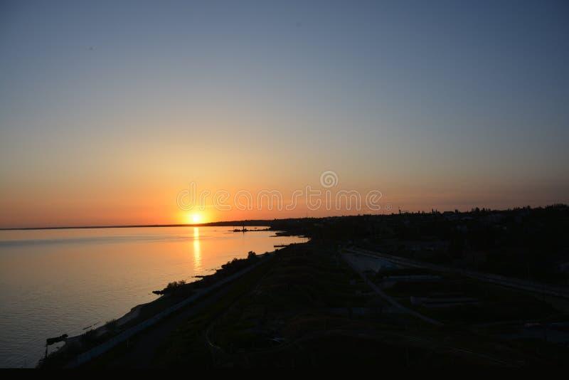 黑海 傲德萨 库存照片