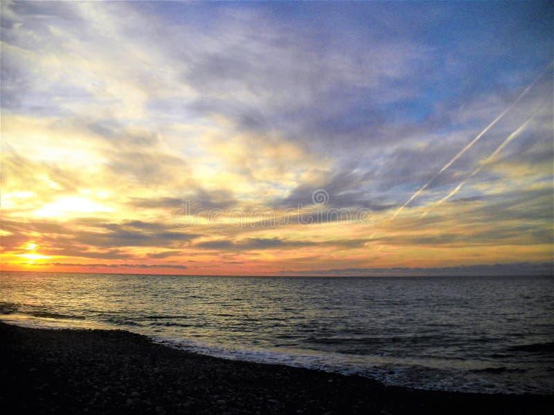 黑海 库存照片