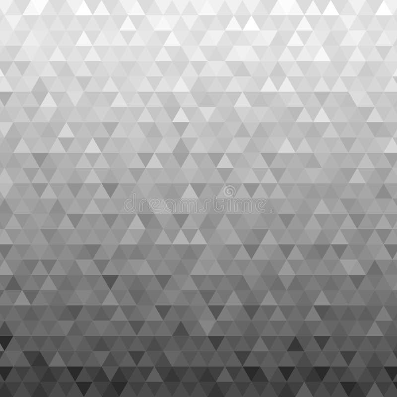 黑白三角样式,背景,纹理 向量例证