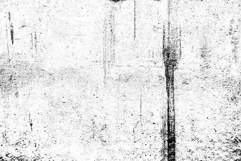 黑白与拷贝空间的难看的东西都市纹理 抽象表面尘土和粗砺的肮脏的墙壁背景或者墙纸与empt 免版税库存照片